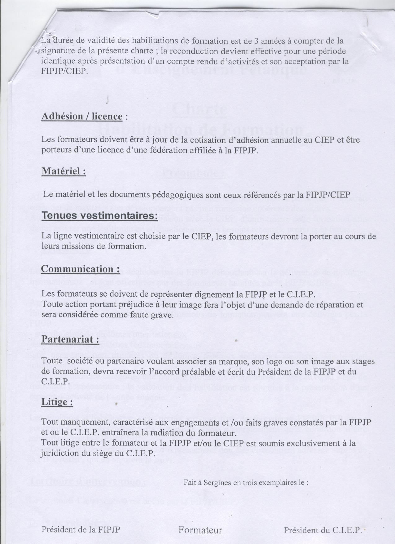 charte 2